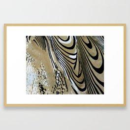 Tiger Stripe Framed Art Print