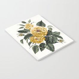 Yellow Roses Notebook