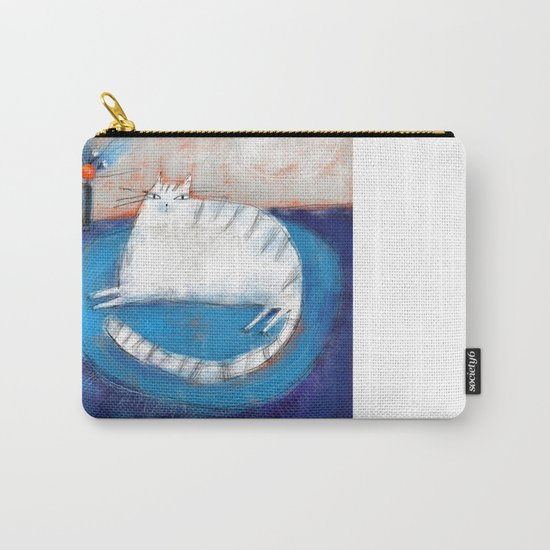 FRINGED RUG Carry-All Pouch