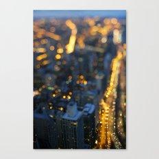City Nights #1 Canvas Print