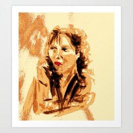 French Woman Art Print