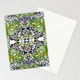 Tropical skin mimicry Stationery Cards