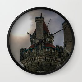 casa loma sun Wall Clock