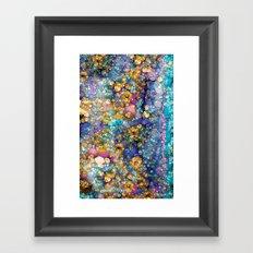 Magic Glitter Framed Art Print