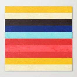 Colors Feels Like We Only Go Backwards - V01 Canvas Print