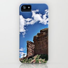 Rockin' out at Red Rock iPhone Case