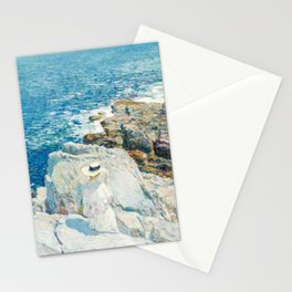 Childe Hassam The South Ledges Appledore Stationery Cards