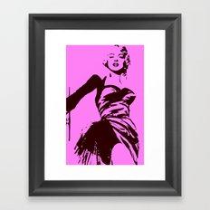 Marylin Monroe Framed Art Print