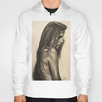 broken Hoodies featuring Broken by Lindsey Gill Art