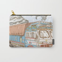 A Truck in the Himalayas Carry-All Pouch