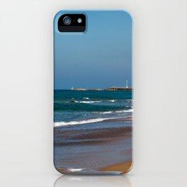 Mediterranean Sea shore in Israel iPhone Case