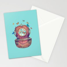 Inner Space - colour option Stationery Cards
