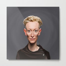 Celebrity Sunday ~ Tilda Swinton Metal Print