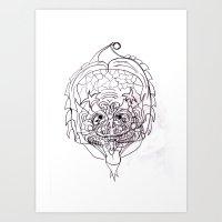 predator Art Prints featuring Predator. by sonigque