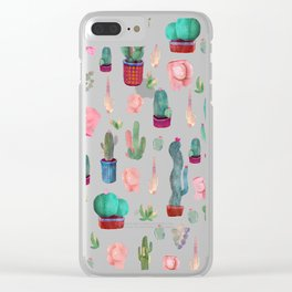 cacatus and butts Clear iPhone Case
