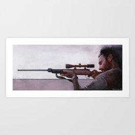 Rick Grimes (the walking dead) Art Print