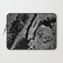 New York map Laptop Sleeve