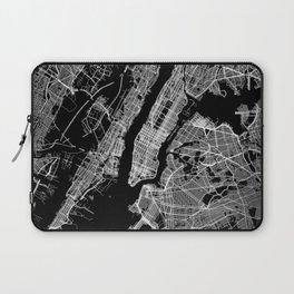 New York map Laptop Sleeve