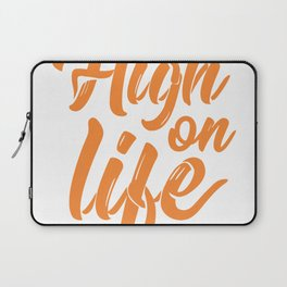 High On Life Laptop Sleeve