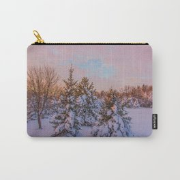 Winter Sunset 5 Carry-All Pouch