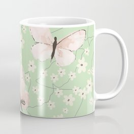 BUTTERFLIES ON  MY MIND Coffee Mug