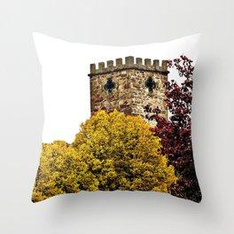 Castel Photography Throw Pillow