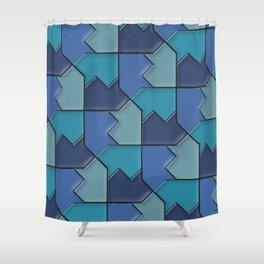 Geometrix 118 Shower Curtain