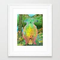 kozyndan Framed Art Prints featuring Prime Creator by kozyndan