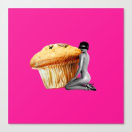 Muffin Whore Canvas Print