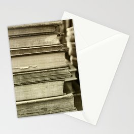 Sepia Stack Stationery Cards