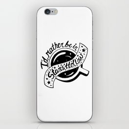 I'd Rather be in Stars Hollow iPhone Skin