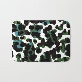 Abstract Green & Blue Bath Mat