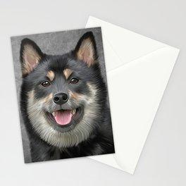 Drawing Japanese Shiba Inu dog Stationery Cards