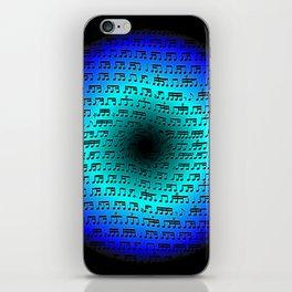 Rhythm Portal iPhone Skin