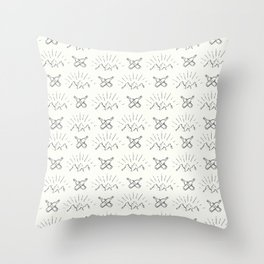 Shite Logo Throw Pillow