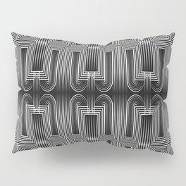 Art Deco 32 . Graffiti black and white Pillow Sham