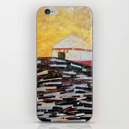 This Must Be The Place (Mongolian Yurt) iPhone Skin