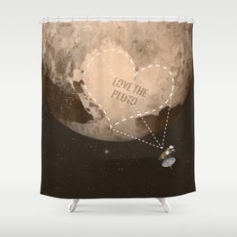 Love the Pluto Shower Curtain