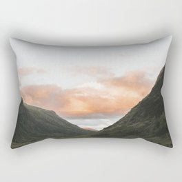 Time Is Precious - Landscape Photography Rectangular Pillow