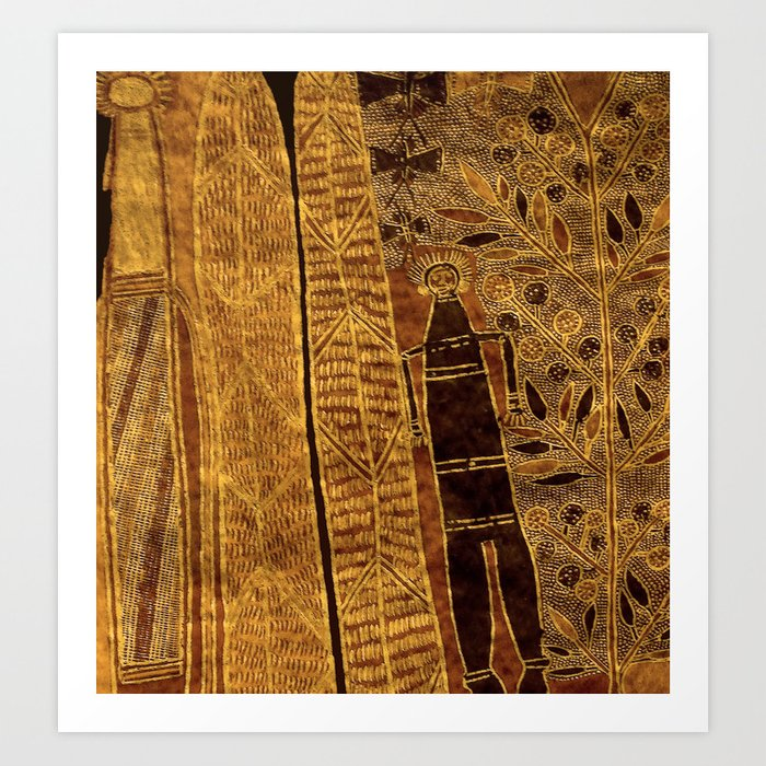 Aboriginal artwork Art Print