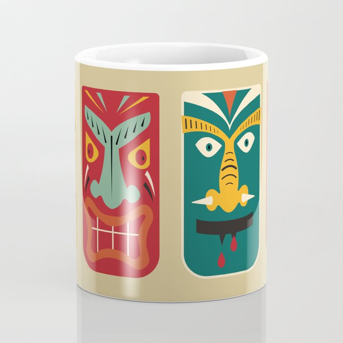 MCM Tiki Friends Coffee Mug