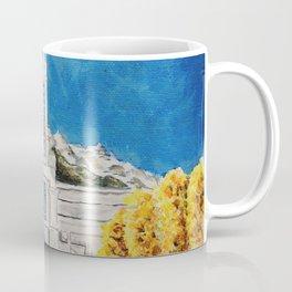 Mount Timpanogos Utah LDS Temple Autumn Coffee Mug