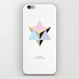 MI MERKABA - Light State iPhone Skin