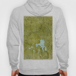 Map of Yellowstone 1898 Hoody