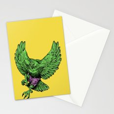 the incredible hawk Stationery Cards