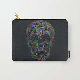 Skull Low-Poly Color Carry-All Pouch