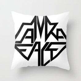 CamRaFace Logo for T-Shirts Throw Pillow