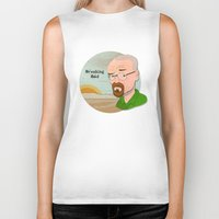 breaking bad Biker Tanks featuring Breaking Bad by Design Grinder
