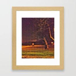 Held in a Dream World Framed Art Print