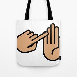 Traverse City Michigan Hand Map Tote Bag